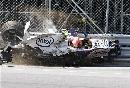 图文:[F1]库比卡撞车事故 车手暂时陷于昏迷