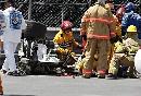 图文:[F1]库比卡撞车事故 小心轻放千万不颠簸