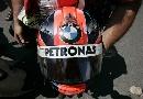 图文:[F1]库比卡撞车事故 比赛现场留下的头盔