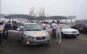 抵达芜湖长江大桥南176.25米处东方之子Cross燃油耗尽