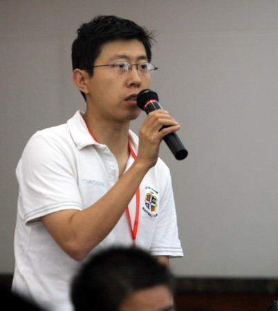 图文:体育旅游博览会发布会 记者提问
