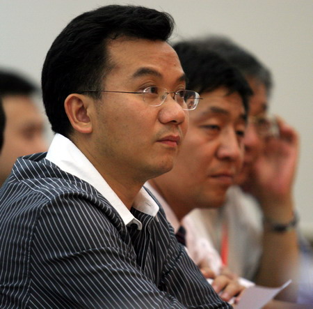 图文:体育旅游博览会发布会 陈陆明出席发布会