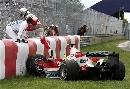 图文:[F1]加拿大站决赛 特鲁利没能逃脱噩运