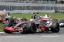 图文:[F1]加拿大站决赛 迈凯轮和宝马表现强劲