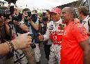 图文:[F1]加拿大站决赛 将功劳全部归于父亲