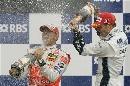 图文:[F1]加拿大站决赛 这回是只给自己庆祝了
