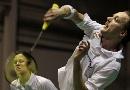 图文:苏迪曼杯第一比赛日 雷伯恩吕特混双比赛