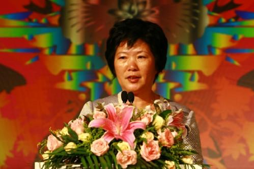 AMD全球高级副总裁兼大中华区总裁郭可尊女士致辞