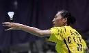 图文:苏迪曼杯次日中国女单取胜 比赛中