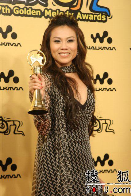 蔡健雅是去年的金曲歌后