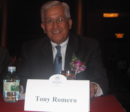 IPS总裁兼CEO Tony Romero