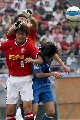 图文:[A3]申花VS浦和 王大雷出击救球