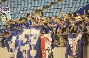 图文:[A3]申花加冕冠军 球迷庆祝夺冠