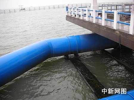 无锡水源地取水设施