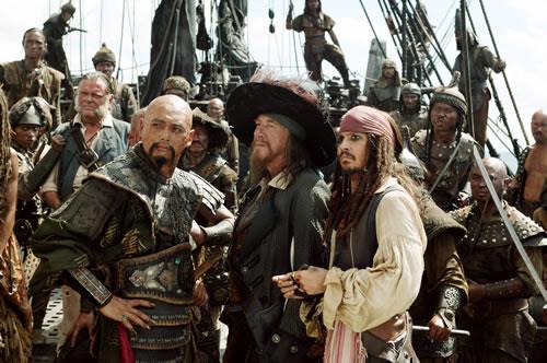 《加勒比海盗3》剧照