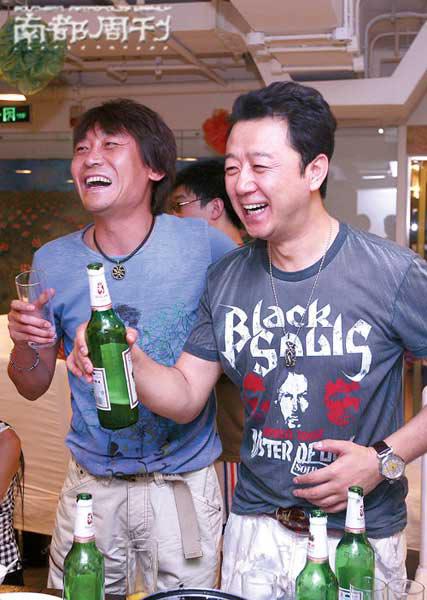 高峰和郭涛也是好朋友