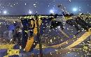 图文:解放者杯决赛博卡大胜 主队疯狂的球迷