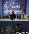 图文:中国4-1战胜马来西亚 李永波出席发布会