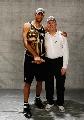 图文:[NBA]马刺夺冠 邓肯和波帅