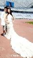 图文:沈阳奥运主题婚纱摄影 新流行的婚纱款式