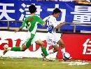 图文:[中超]天津VS北京 张烁边路突破
