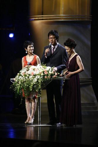 组图:上海电影节开幕 式颁奖礼-颁奖主持人