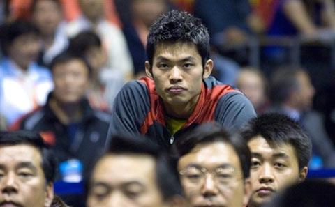 图文:中国队成功卫冕苏迪曼杯 林丹鹤立鸡群
