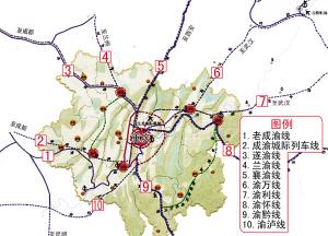 成都铁路局规划图_重庆打造西部最大铁路枢纽-(图)-搜狐新闻