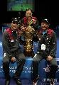 图文:中国队成功卫冕苏迪曼杯 张宁和李永波