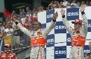 图文:[F1]美国大奖赛决赛 迈凯轮车队双雄