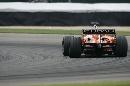 图文:[F1]美国大奖赛决赛 阿尔伯斯急驰而去