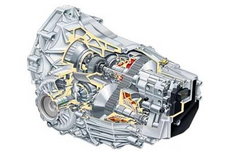 奥迪multitronic无级变速箱结构图