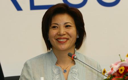 图文:北京奥运会城市志愿者招募 主持人王惠