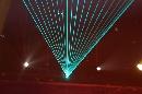 图文:奥运城市志愿者招募主题活动 激光表演秀
