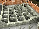 地堡顶上的加固物体地基