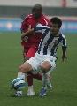 图文:[中超]河南0-0陕西 戈麦斯在比赛中