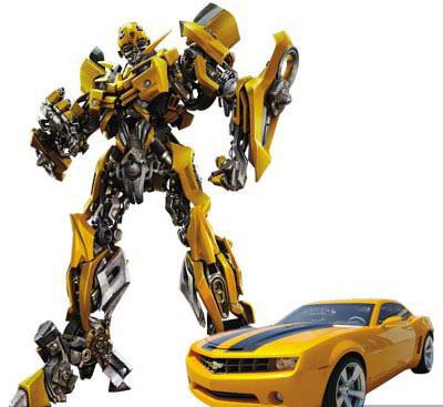变形金刚 人物汽车原型 大黄蜂高清图片