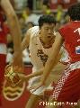 图文:[男篮]中国VS克罗地亚 大郅准备突破