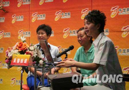 全国劳模刘俊华,奥运大妈左彦如做客千龙网