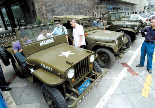史迪威博物馆收到二战美军援华吉普(组图)-搜狐