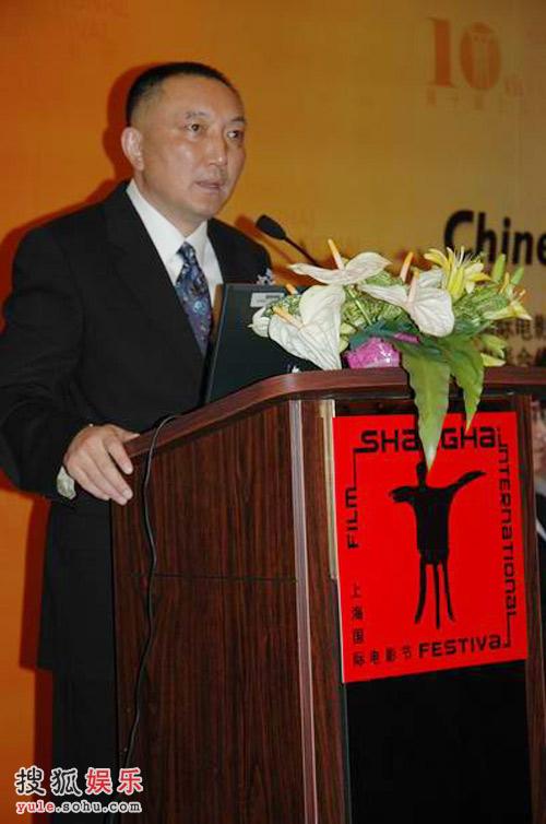 中国电影集团公司董事长、中国电影制片人协会理事长、世界电影制片人协会副主席韩三平