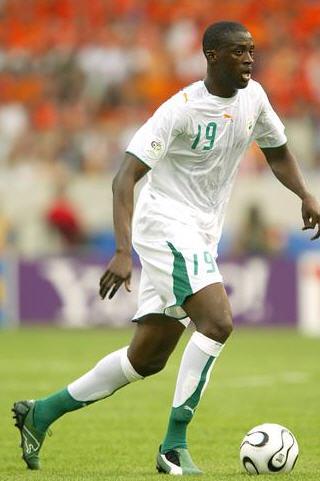 亚亚-图雷参加了2006世界杯