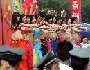 图文:2007年奥林匹克体育文化节 现场舞蹈表演