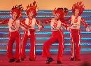 图文:奥林匹克文化节揭幕 舞蹈表演精彩纷呈