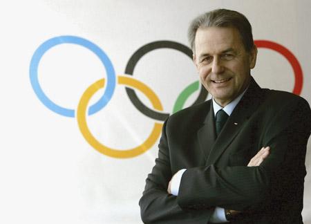 国际奥委会主席罗格(资料图)