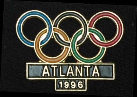 图文:第13届奥林匹克收藏博览会 1996年奥运会