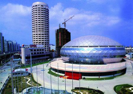 2007体操世界杯分站赛上海站 长宁体操中心介绍