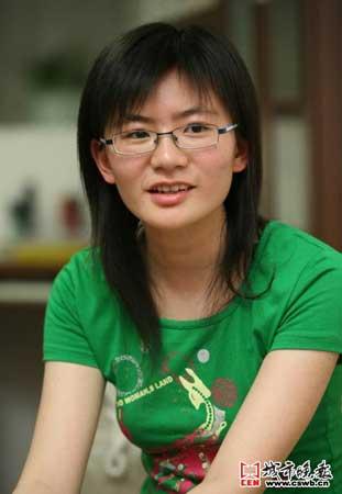 赵毅亮/摄 文科状元:胡慕实 成绩:666分 志愿:北京大学西班牙语专业