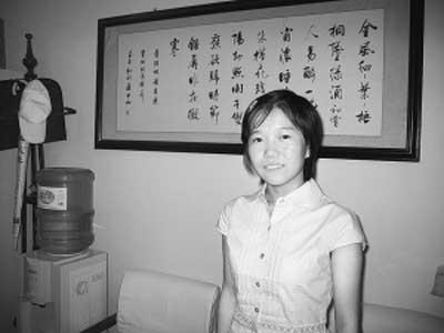 理科状元:孔令兵    成绩:709分    志愿:清华大学电子信息专业 赵毅亮/摄