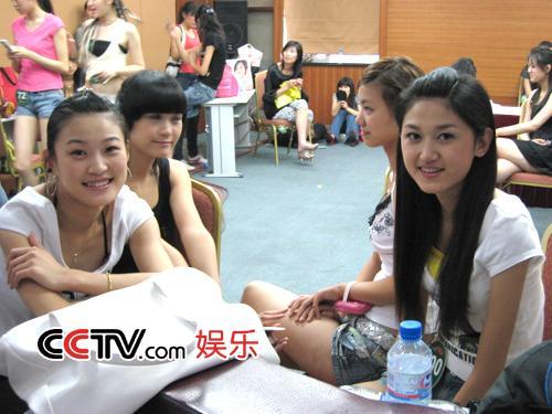 图:第八届CCTV模特大赛 山东赛区选秀 - 15